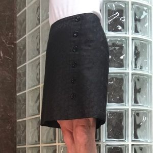 Side zip skirt